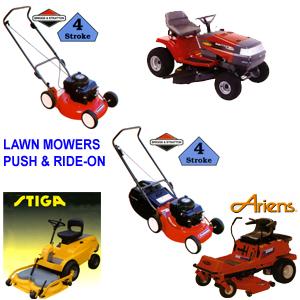 Ride On Mowers Listing
