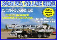 Visit Goolwa  Crane Hire
