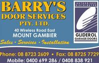 Visit Barrys Door Services