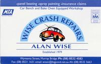 Visit Alan Wise Crash Repairs