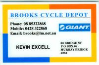 Visit Brooks Cycle Depot