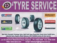 Visit O'Tyre Service