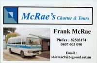 Visit McRae's Charter & Tours