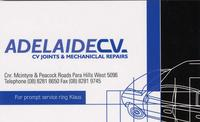 Visit Adelaide CV Joint and Mechanical Repairs