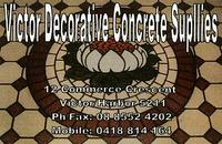 Visit Victor Decorative Concrete Supplies