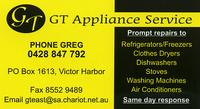 Visit G.T Appliance Service