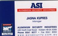 Visit Aluminium Security Industries