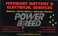 Visit Modbury Battery Service Pty Ltd