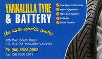 Visit Yankalilla Tyre & Battery