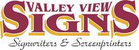 Visit Valley View Signs