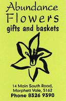 Visit Abundance Flowers Gifts & Baskets