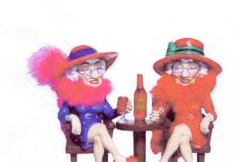 Redhatters in Purple Growing Old Disgracefully - Womens Organisations ...