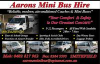 Visit Aarons Mini Bus Hire